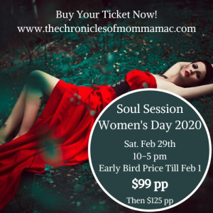 1st Annual Soul Session Women's Day 2020