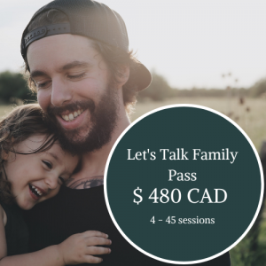 Individual Family Coaching Session – Let's Talk Bundle Pass